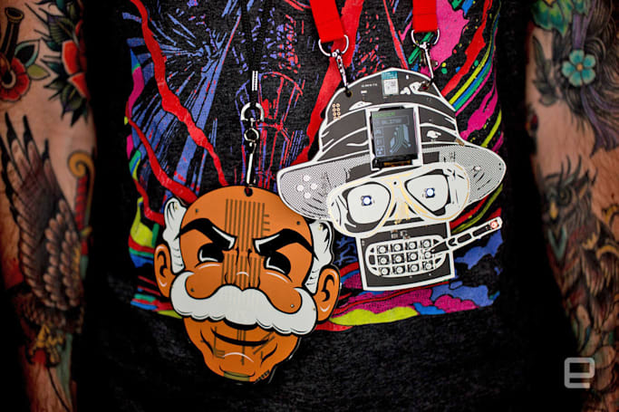 The exquisite art and subculture of Def Con's (unofficial) badges