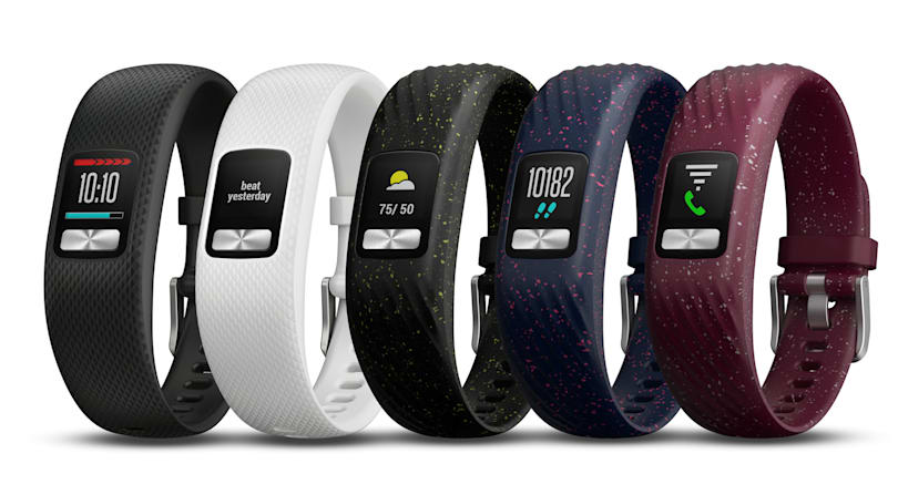 Garmin's new Vivofit lasts for a year with an always-on color display