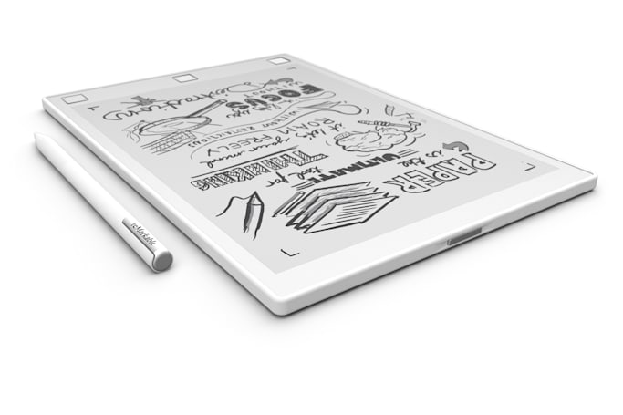 Digitize your doodles with an e-reader you can draw on