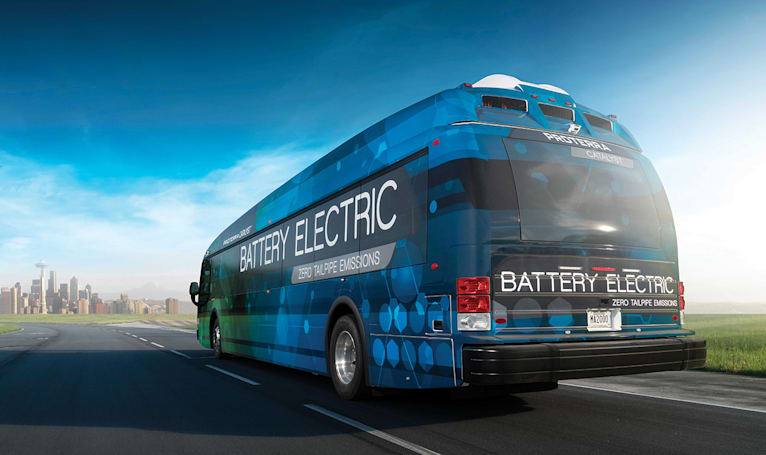 Proterra wants to build autonomous vehicles for public transit