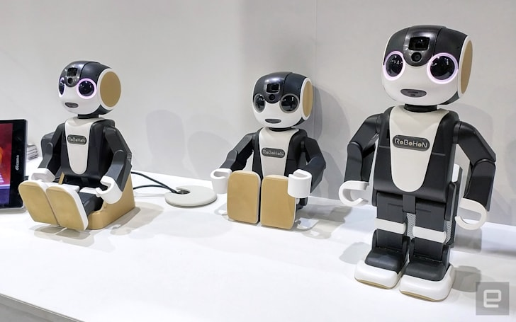 Sharp's smartphone robot gets a more 'affordable' WiFi version