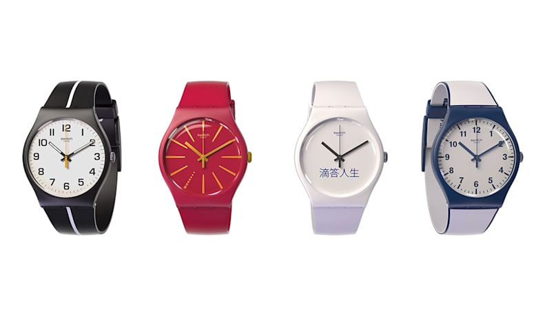 Bloomberg: Swatch is hoarding smartwatch patents