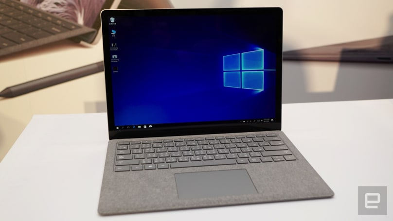微软在美国推出更便宜的低配版 Surface Laptop、Surface Book 2