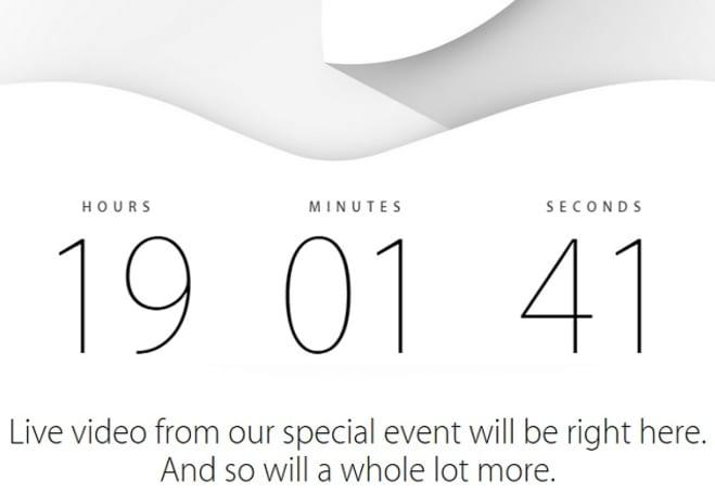 Apple homepage redirecting users to Apple.com/live