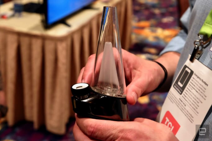The challenge of showcasing weed tech at CES