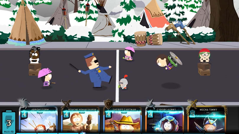 'South Park' is ready to do battle on your phone