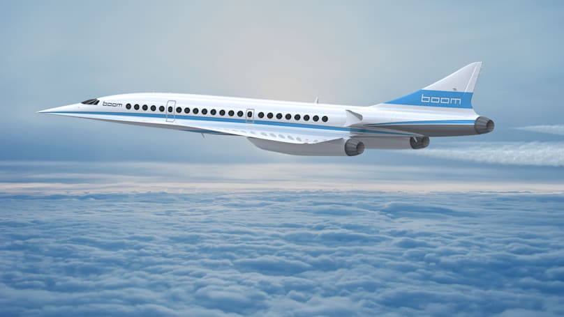 Boom's supersonic jets will pick up where the Concorde left off