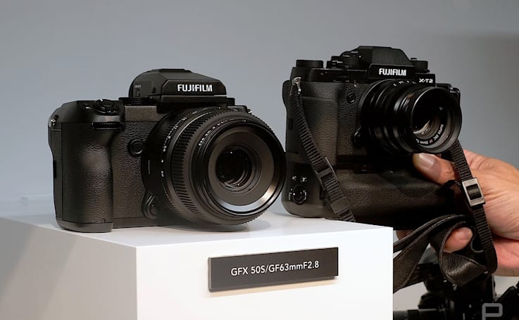 At Photokina, camera makers carve out their territory