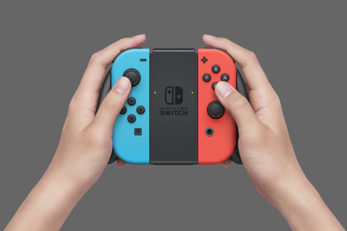 Nintendo's Switch doesn't come with a charging Joy-Con grip