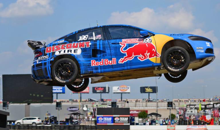 Red Bull's 2018 rallycross cup is getting an EV class