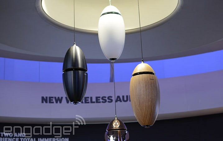 Samsung's 'Ring Radiator' speakers look strange, but sound pretty good