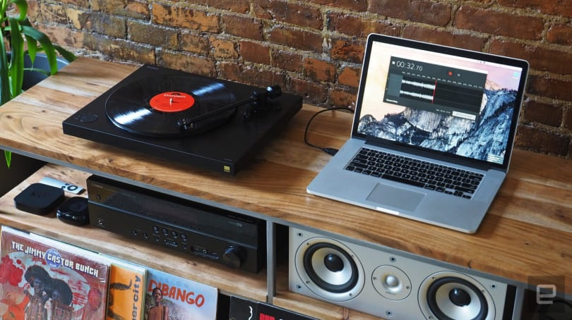 Sony's hi-res turntable and software make it easy to go digital