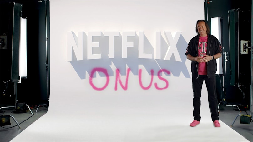 T-Mobile family plans now include free Netflix streaming