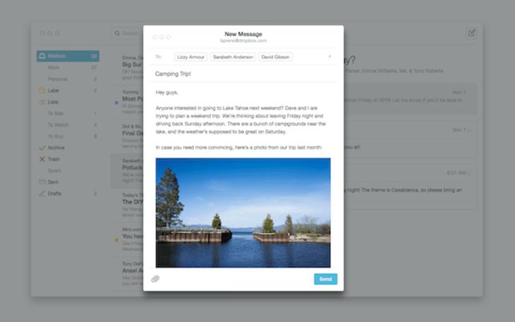 OS X 版 Mailbox 已經開放給大家試用啦