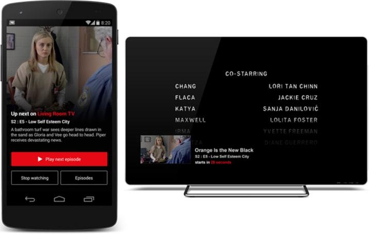 Netflix makes it easier to marathon shows using your Chromecast