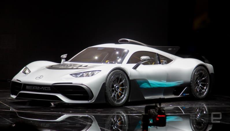 Mercedes puts Formula One tech in an electric hypercar