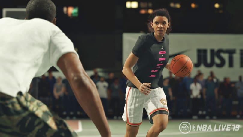 《NBA Live 19》首度加入创建女性球员角色的功能