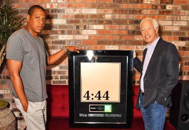 Jay-Z's '4:44' album is no longer a Tidal exclusive