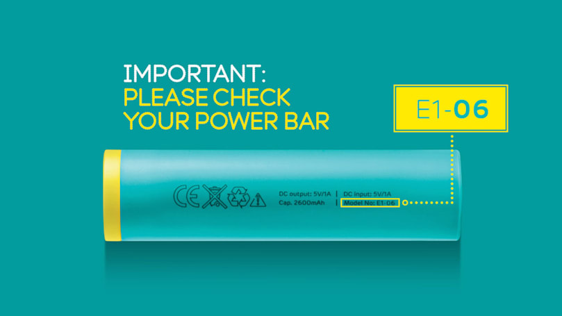 EE recalls Power Bar chargers over fire risks