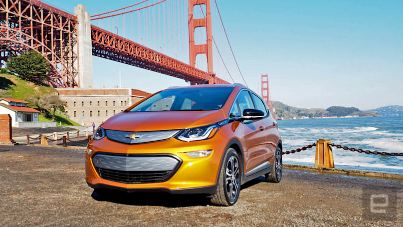 GM challenges eight schools to build self-driving Chevy Bolts