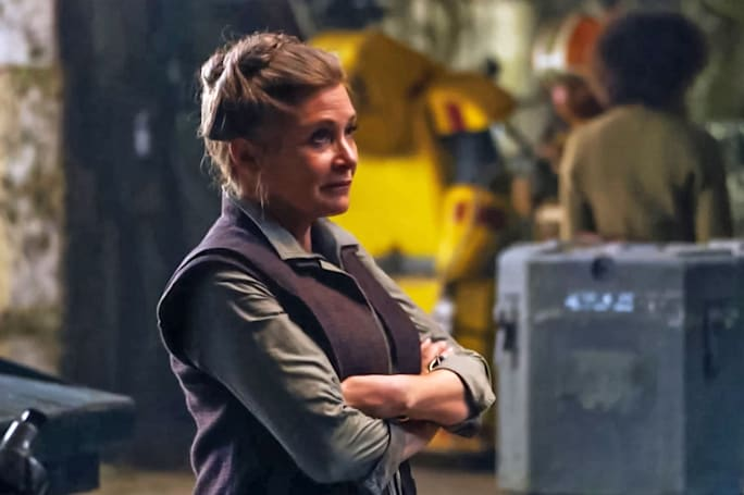Carrie Fisher will be in 'Star Wars: Episode IX' without use of CG (update: no)