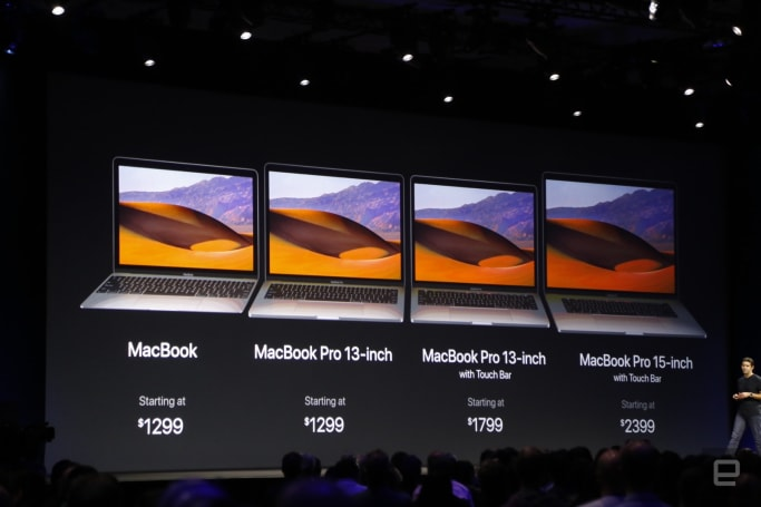 Apple boosts the MacBook line's performance with Kaby Lake processors