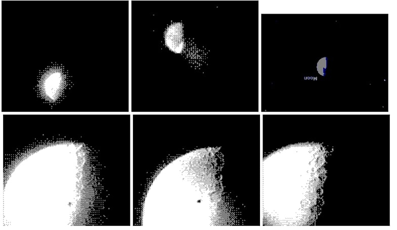Researcher uses Game Boy Camera to capture 2-bit photos of space