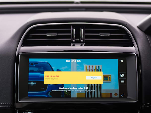 Jaguar and Shell partner for in-car fuel payments