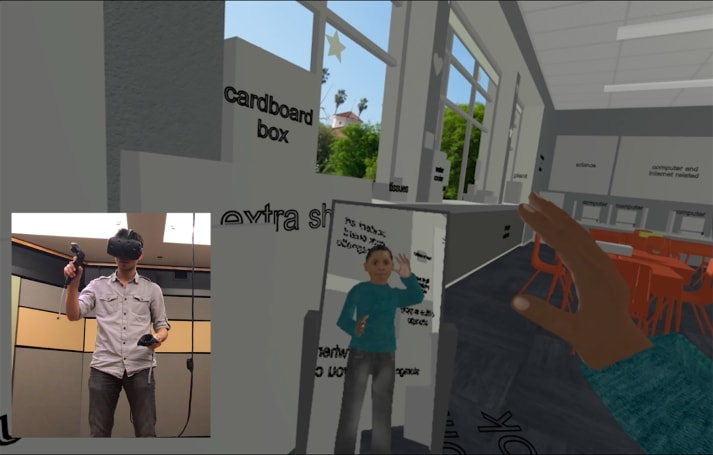 Changing your race in virtual reality