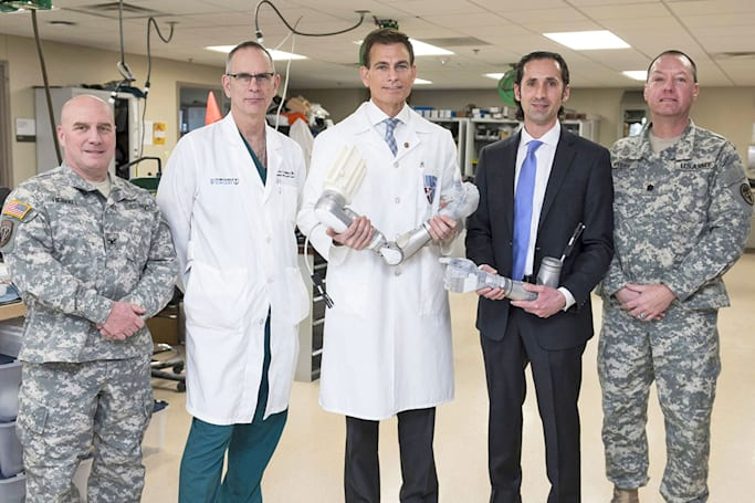 DARPA is giving war vets first access to LUKE bionic arms