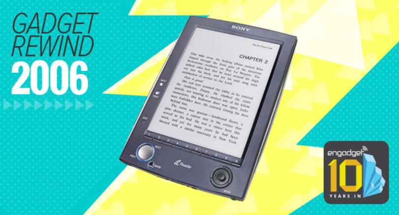 Gadget Rewind 2006: Sony Reader PRS-500