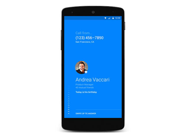 Facebook Hello shows who's calling your Android phone