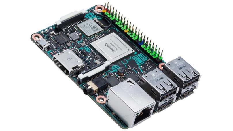 瞄準 Maker 市場,華碩也推「類 · Raspberry Pi」主機板