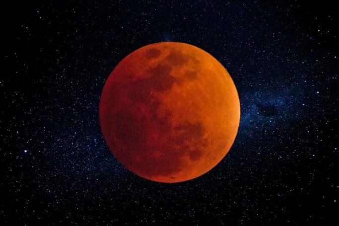 NASA will stream Wednesday's rare blue moon lunar eclipse