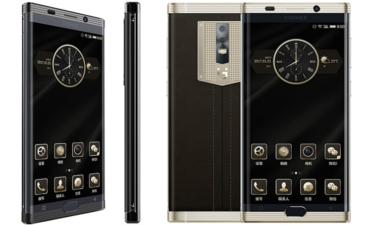 China's latest luxury phone packs a massive 7,000mAh battery