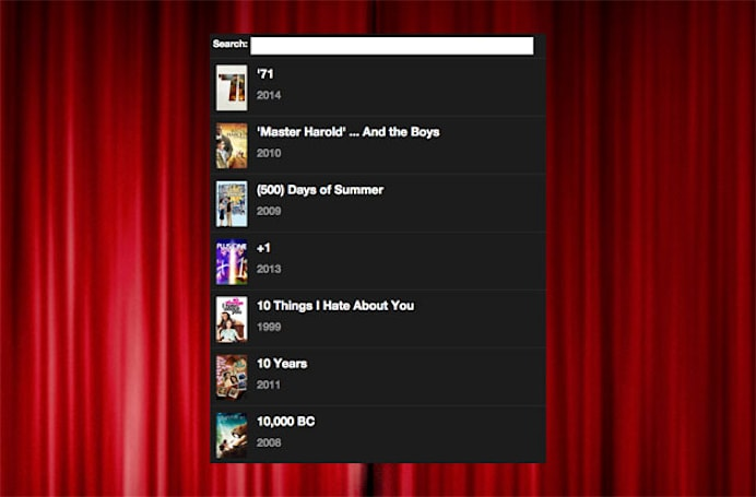 Popcorn Time-like pirate movie streaming comes to the web (update: poof)