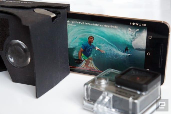GoPro 发布 VR 视频应用程序和串流工具
