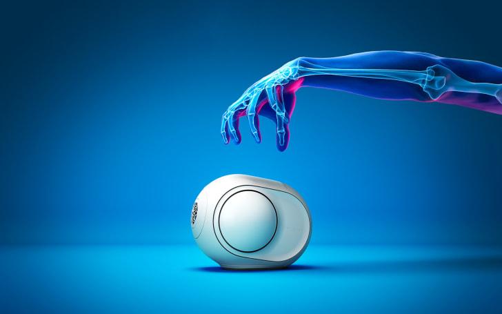 Devialet shrinks its 'alien egg' speaker (and its price)