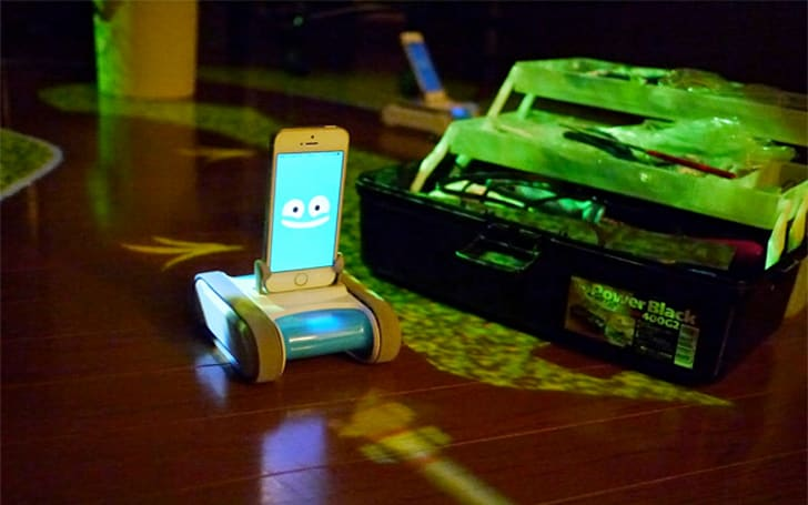 RomoCart turns your living room into a video game