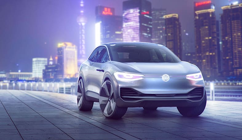 Volkswagen's crossover of the future uses AR to keep you informed