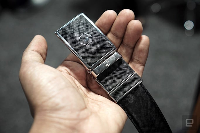 Samsung's smart belt lands on Kickstarter