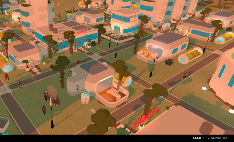 'Seed' is an ambitious, massively multiplayer city builder