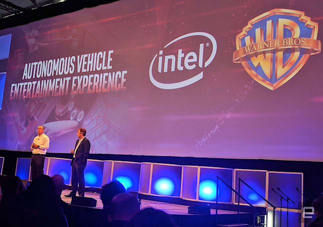 Intel wants to make your autonomous car rides more entertaining