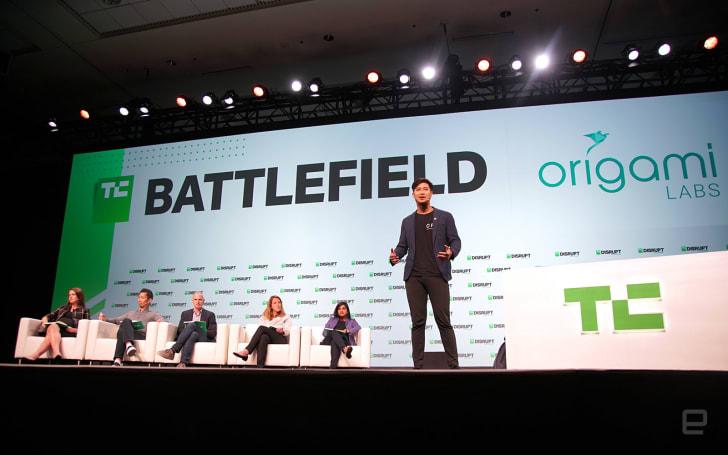 香港的 Origami Labs 成功晉級 Startup Battlefield 五強決賽!