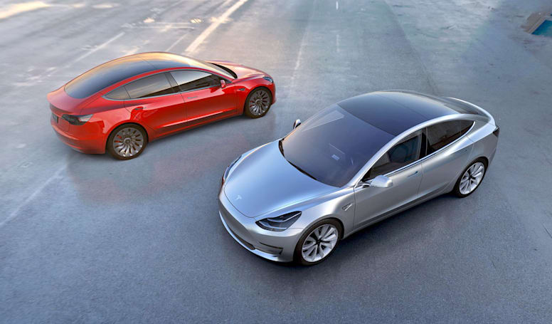 Tesla's Model 3 will be sold with a Ludicrous Mode option