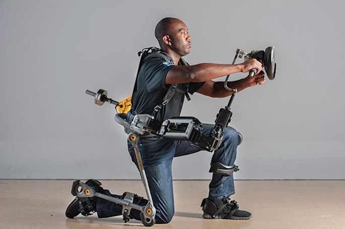 Lockheed Martin's FORTIS exoskeleton helps US Navy with heavy lifting