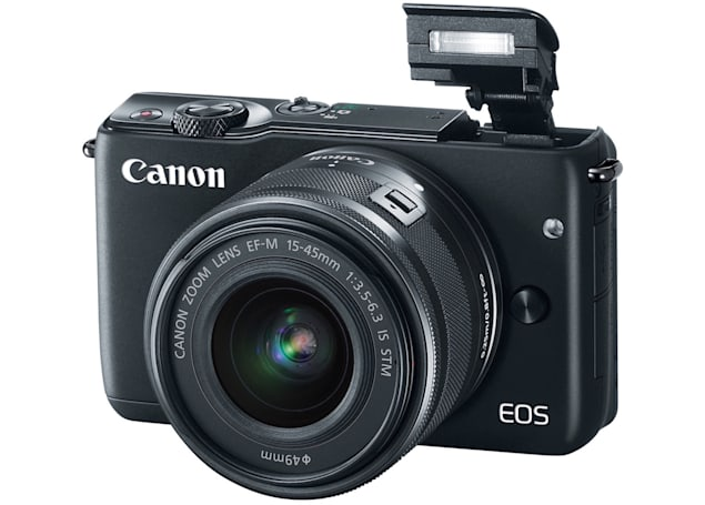 Canon's EOS M10 is a mirrorless camera designed for beginners