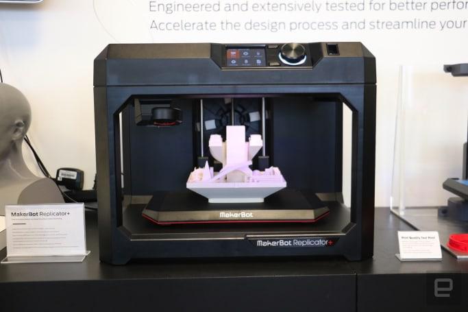 MakerBot's Replicator+ promises bigger, faster 3D prints
