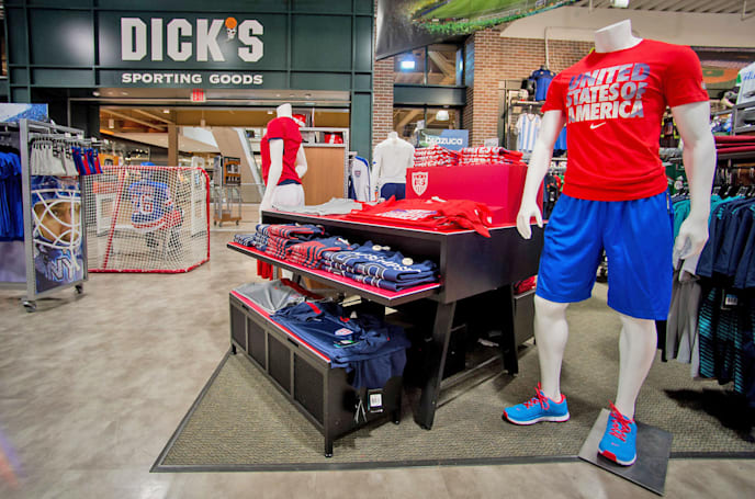 Dick's Sporting Goods is the latest retailer to price match Amazon