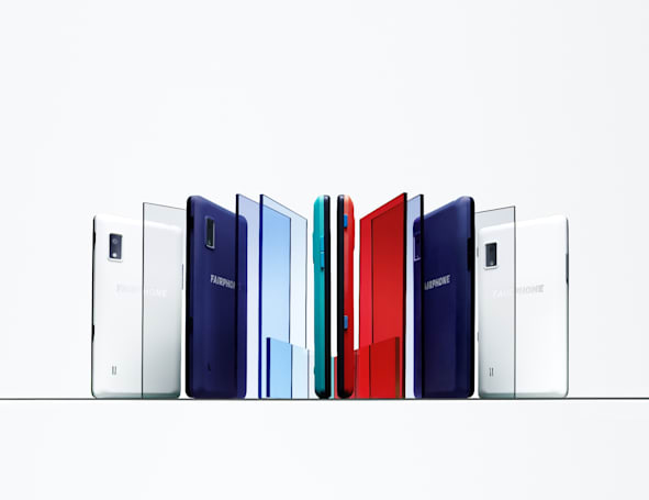Fairphone's easy-to-fix handset relaunched with a slim cover